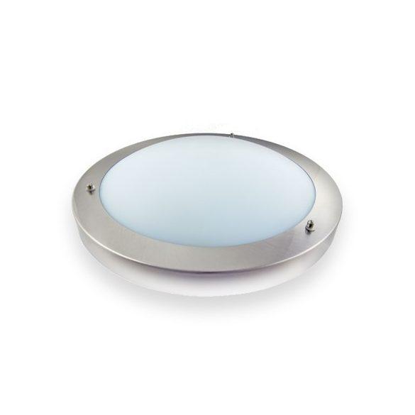LANDLITE VISOLA CL077, 2XE27 max 60W, matt króm, IP44, fürdőszobai lámpa