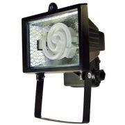 LANDLITE FL-F78-8W, 1x8W 78mm/R7s, fényvető / reflektor (kompakt fénycső mellékelve), fekete