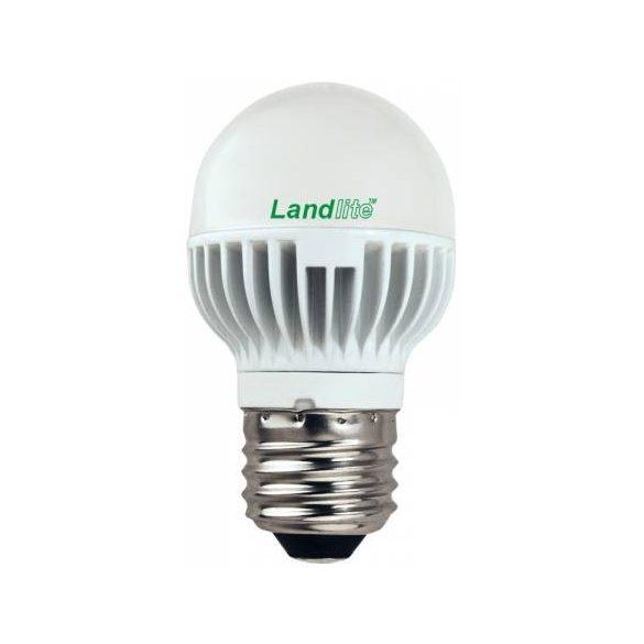 LANDLITE LED, E27, 4W, G45, 260lm, 3000K, kisgömb formájú fényforrás (LED-G45-4W)