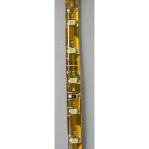 LANDLITE LED szalag, 4,8W/m, 240lm/m, 4000K, 12V, IP65 (5m / tekercs) (SMD3528)