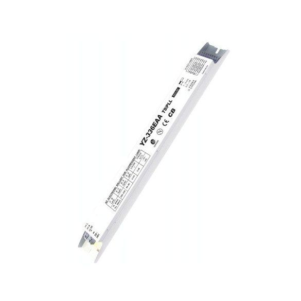 LANDLITE EBT8-336 Elektronikus előtét 3x36W T8 fénycsőhöz