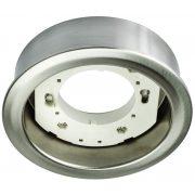 LANDLITE GX53, 1x9W, ezüst, pultvilágító, lámpatest fényforrás nélkül (DL-19-GX53)