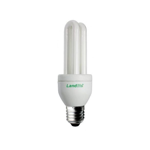LANDLITE Energiatakarékos, E27, 7W, 350lm, 2700K, U csöves fényforrás (ELM-7W)