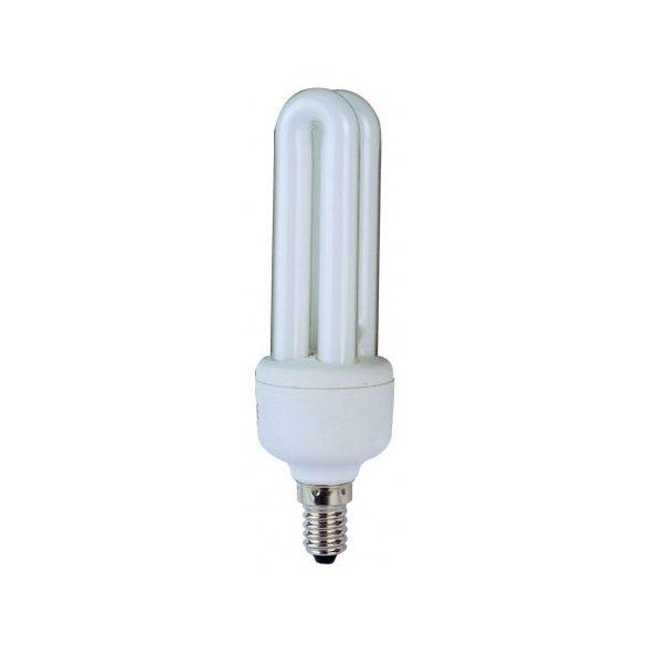 LANDLITE Energiatakarékos, E14, 11W, 280lm, 2700K, U csöves formájú fényforrás (ELM-11W)