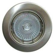 LANDLITE Halogén, GU10, 3x50W, Ø79mm, fix, matt króm, spot lámpa szett (KIT-57A-3)