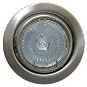 LANDLITE Halogén, GU10, 3x50W, Ø79mm, billenő, matt króm, spot lámpa szett (KIT-60A-3)