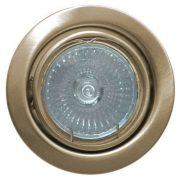 LANDLITE Halogén, GU10, 3x50W, Ø79mm, billenő, antik bronz, spot lámpa keret (KIT-60A-3)
