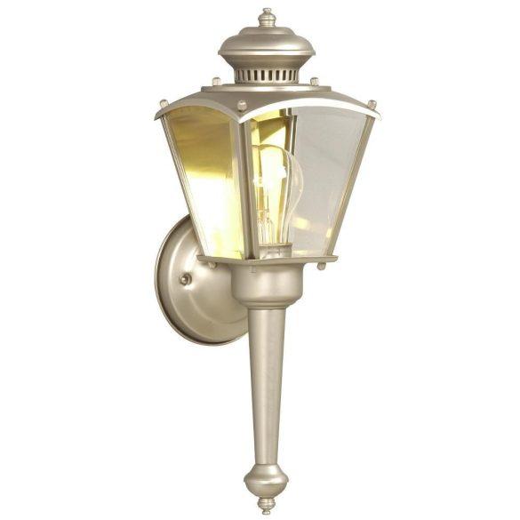LANDLITE MB309-1  Kültéri fali lámpás, lámpa nikkel színben