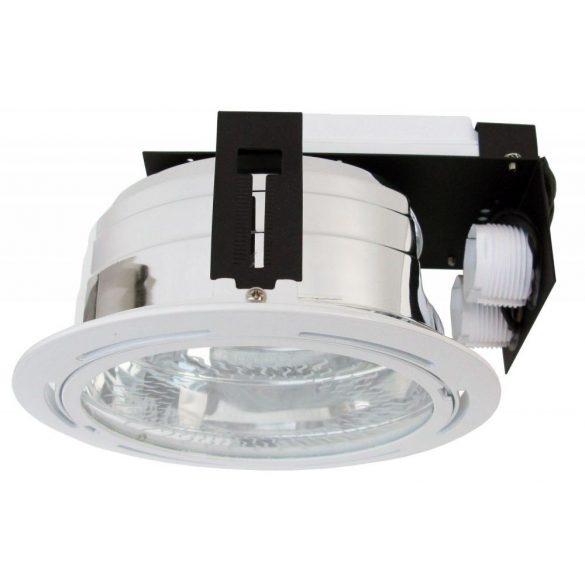 LANDLITE DL-518, 2x18W 230V G24q-2 fénycsöves mélysugárzó / súllyeszthető lámpatest