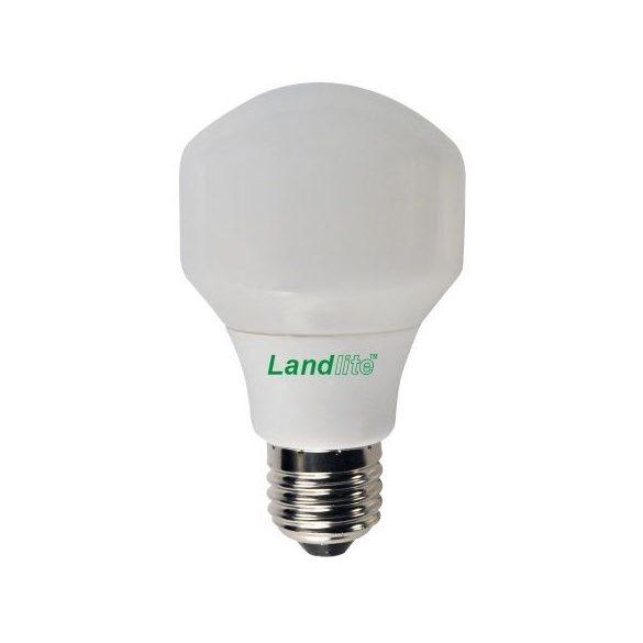 LANDLITE Energiatakarékos, E27, 11W, T60, 600lm, 2700K, körte formájú fényforrás (ELN-11W)