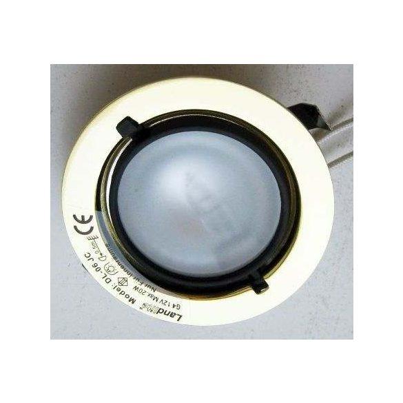 LANDLITE Halogén, G4, 5x20W, Ø70mm, fix, arany, spot lámpa szett (KIT-501-5 (KIT-06-5))