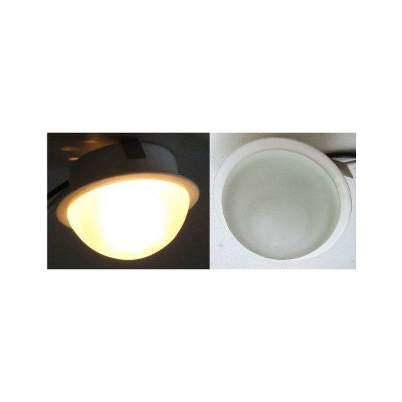 LANDLITE KIT-601-3, 3db JC-20W G4 12V halogén izzó, fix kivitel, üveg bura, beépíthető lámpa szett (3 db-os halogén szett), fehér