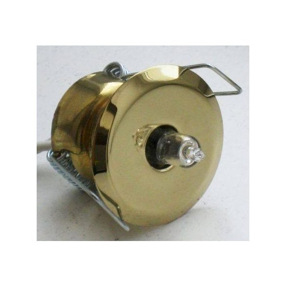 """LANDLITE KIT-511-3, 3db JC-20W G4 12V halogén izzó, fix kivitel, """"Csillagok"""", beépíthető lámpa szett (3 db-os halogén szett), arany"""