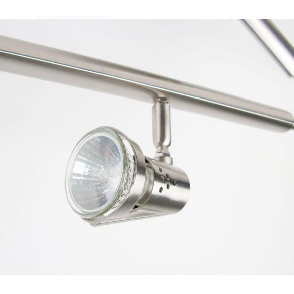 LANDLITE MW-5407 / 2C modern matt króm mennyezeti lámpa, 2xGU10 50W 230V