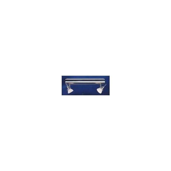 LANDLITE SLB41-217-2, modern fali lámpa 2xMax 35W 12V matt nikkel