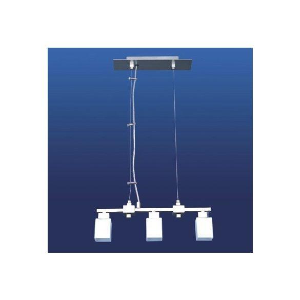 LANDLITE CL-013-3, modern függeszték 3xG9-40W 230V matt nikkel