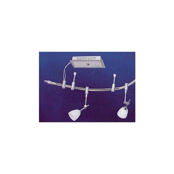 LANDLITE LVWM83E-291-5 5xMR16 20W Halogén track lámparendszer