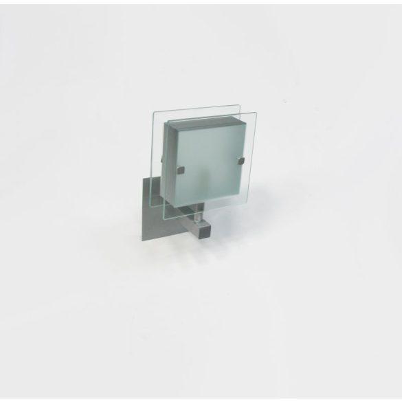 LANDLITE SHARONA MW-5424/1W,ezüst fali lámpa