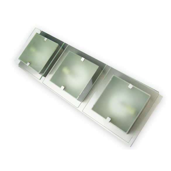 LANDLITE SHARONA MW-5424/3C-R modern mennyezeti lámpa 3xG9 40W 230V
