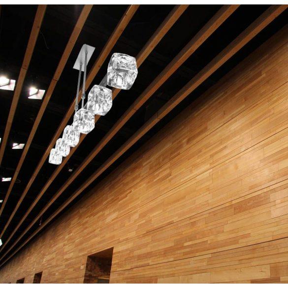 LANDLITE MW-5384/6HB modern függesztett lámpa 6xG9 40W 230V