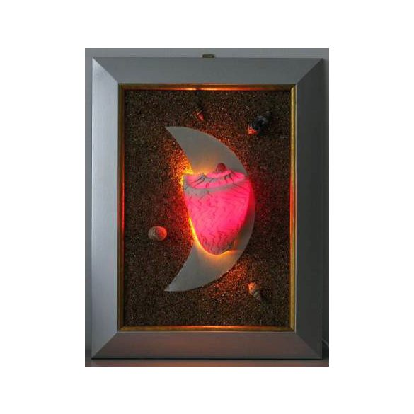 LANDLITE SHELL LIGHT-002, 1xG9 230V 25W, kagyló lámpa