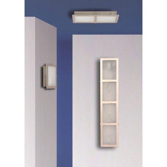 LANDLITE INGA-A04 modern fali lámpa 4xG9 40W 230V (matt króm / fehér üveg)