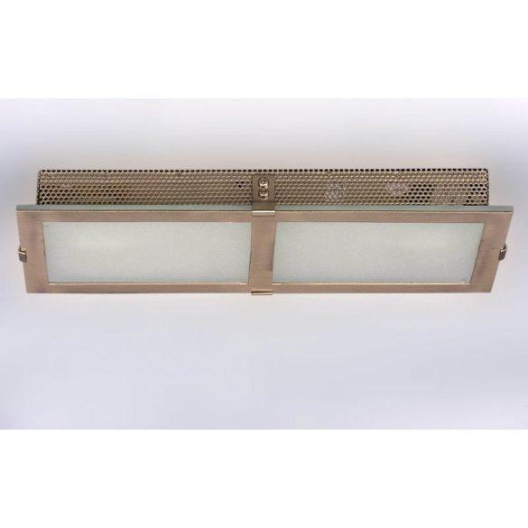 LANDLITE INGA-A02 modern fali lámpa 2xG9 40W 230V (matt króm / fehér üveg)