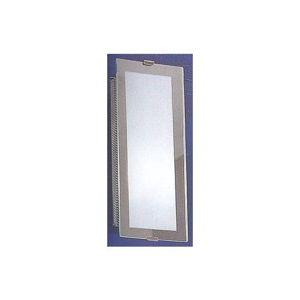 LANDLITE INGA-A01 modern fali lámpa 1xG9 40W 230V (matt króm / fehér üveg)