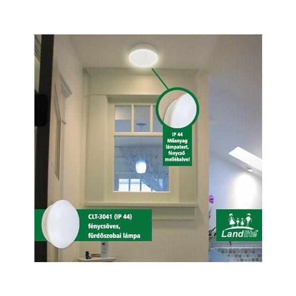 LANDLITE CLT-3041, 2xPL/G23-9W, IP44, fénycsöves fürdőszobai lámpa
