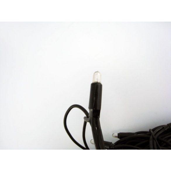 LANDLITE 230V RSL-100-10M-230V/W, 100db 6mm NAGY izzó (meleg fehér), 10 méter, 17,5W, toldható (max. 4 db), kültéri fényfüzér, izzó szín: meleg fehér