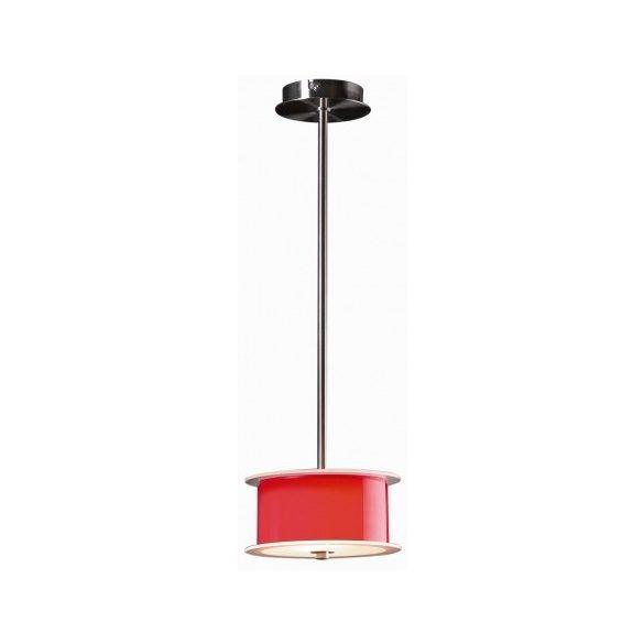 LANDLITE REFORMO P6026/B piros, 4X60W E27 230V, függeszték