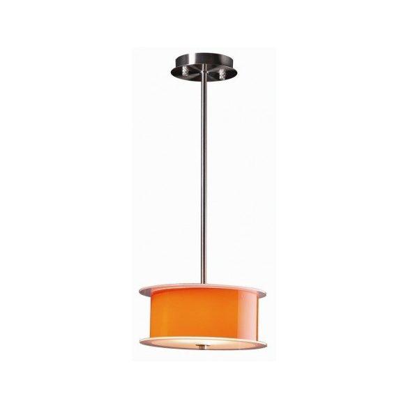 LANDLITE REFORMO P6026/B narancs, 4X60W E27 230V, függeszték