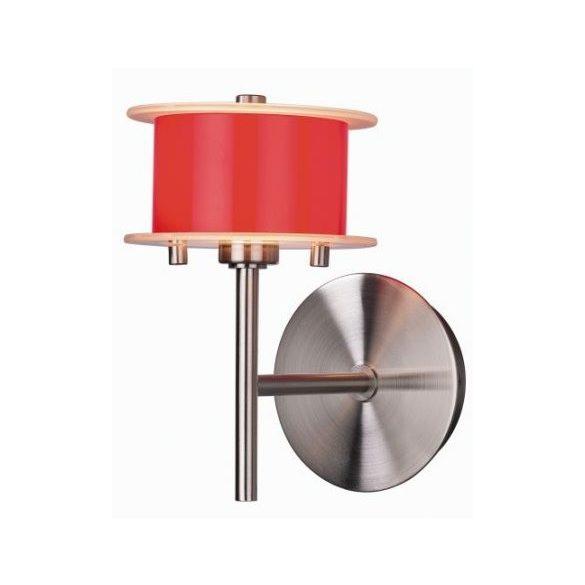 LANDLITE REFORMO W6026/1L piros, 1XG9 60W 230V, fali lámpa