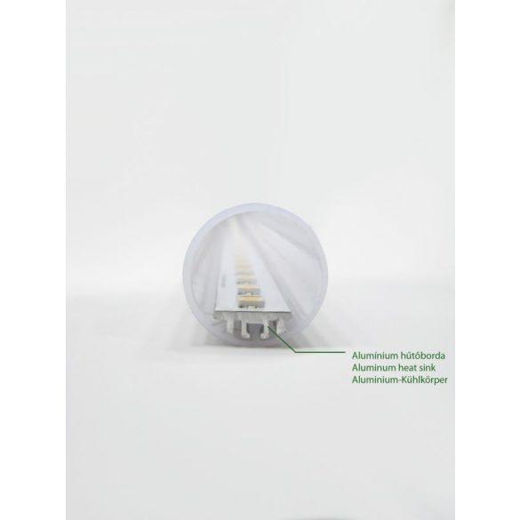 LANDLITE LED, T8, 600mm, 9W, 900lm, 4000K fénycső (LED-T8-600mm-9W)