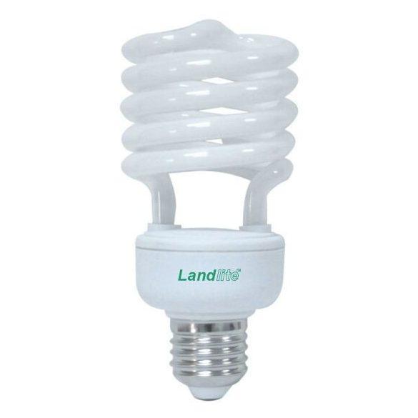 LANDLITE Energiatakarékos, E27, 26W, 1550lm, 2700K, spirál formájú fényforrás (ELH/M-26W)