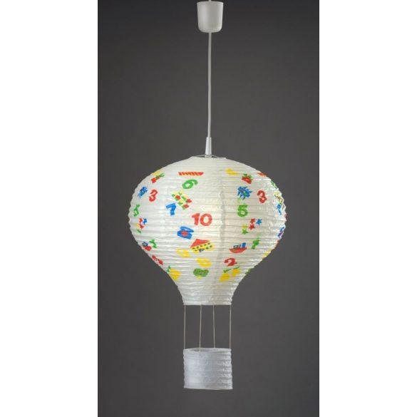 LANDLITE CLP-550 E27 Rizspapír függesztett lámpa