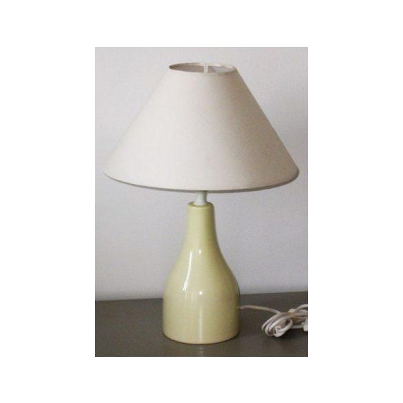 LANDLITE TL6041 kerámia asztali lámpa, E14, max. 1x40W, fehér