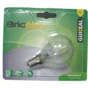 LANDLITE Bricélec Halogén, E14, 28W, G45, 370lm, 2900K, kisgömb formájú fényforrás (HSL-G45-28W)