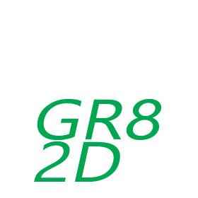 GR8 / 2D-s foglalaú fénycsövek