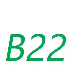 B22 Foglalat
